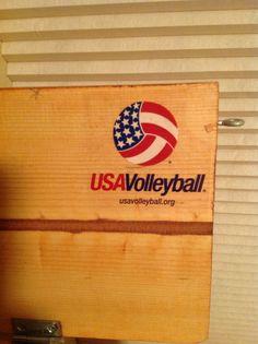 USA Volleyball Logo!