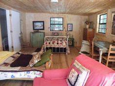 such a fun, rustic cabin