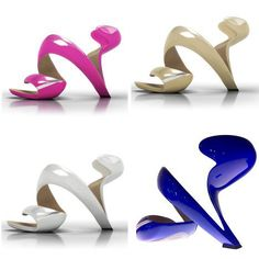 they're shoes! designed by an architect. definitely want to try