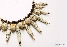Fall / Winter 2010 - 2011 - Handmade paper jewelry