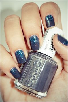 Essie Smoking Hot with OPI Last Friday Night