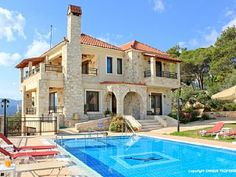 Luxury villas with private pool, sea view, large garden, near the beach - Ermis Luxury Villa ChaniaVacation Rental in Vouves from @homeaway! #vacation #rental #travel #homeaway
