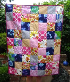 first ever patchwork quilt