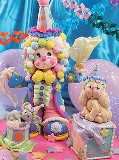Payaso - Tierna ingenuidad Compra el patron con las instrucciones en www.eviadigital.com y regalale este lindo proyecto a la personita que mas queres♥