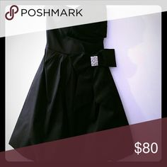 Perfect Party Dress NWOT Strapless blk tea-party style dress. Never worn. NWOT Teeze Me Dresses Strapless