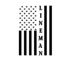 Car Decals, Vinyl Decals, Power Lineman, American Flag Decal, Cooler Designs, Diy Shirt, Adhesive Vinyl, Carpenter, 6 Years