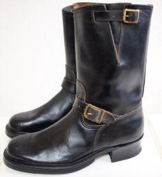vintage buco engineer boots.