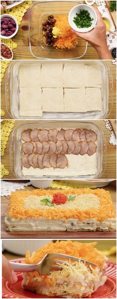 Torta Salgada Fria de 12 minutos #torta #tortas #tortasalgada #receitassalgadas