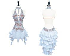 Vanilla Ice   Rhythm & Latin Dresses   Encore Ballroom Couture