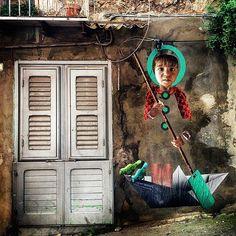 Work by @chromesurgery in Italy (http://ift.tt/255UWvC) #globalstreetart by globalstreetart