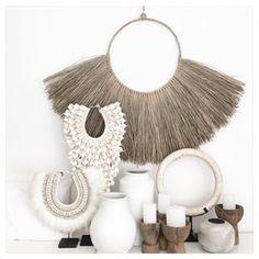 Artwork For Home Decoration Referral: 6406840586 Bohemian Living, Boho, Bohemian Decor, Ibiza Style Interior, Cafe Interior, Bali Decor, Macrame Wall Hanging Patterns, Ethnic Decor, Ibiza Fashion