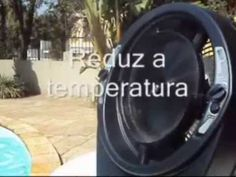 VENTILADOR -CLIMATIZADOR- UMIDIFICADOR ECOCLEAN V 8  (11) 2371 4964