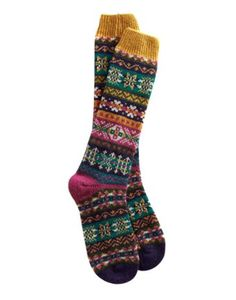 #Joules #Christmas #Wishlist Joules null Womens Fairisle Sock, Fairisle.                     Fair Isle style for your feet! If you can't get home and put your feet in front of a warm open fire, pull these socks on. The feeling will be just the same.