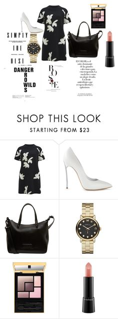 """Untitled #33"" by wcyera on Polyvore featuring Marc by Marc Jacobs, Casadei, MAC Cosmetics and Arco"