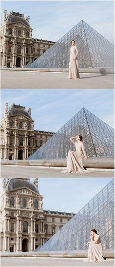 Paris Photoshoot - Louvre Pyramid