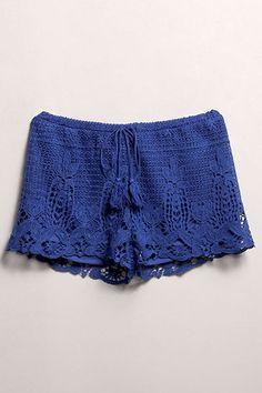 Crochet Shorts | Rumor Apparel