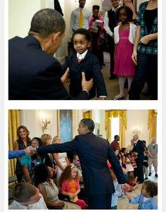 President Obama & The Children Who Loves Him!!