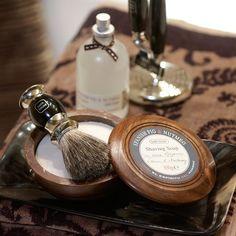 Bath House Spanish Fig & Nutmeg Shave Soap - Trouva
