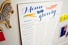 10 Pretty, Practical Shopping List Notepads We Love for the Kitchen