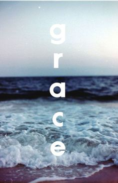 His grace washes over us