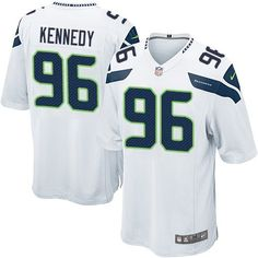446fee1d8 Nike Limited Cortez Kennedy White Youth Jersey - Seattle Seahawks  96 NFL  Road