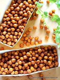 Tasty Dumpling: Kichererbsen a la Crunchy - Healthy Snacks, Healthy Eating, Vegan Recipes, Cooking Recipes, Sausage Recipes, Brunch, Food Inspiration, Food To Make, Good Food