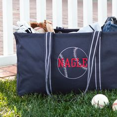 Check out the Baseball Icon-It! Choose just the Icon, or personalize with your little slugger's jersey number or name, or team name, or favorite saying, or... I have TONS of ideas if you're looking for a little something different. www.mythirtyone.com/jennykenneley