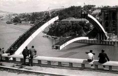 A Ponte da Arrábida tinha um arco que metia medo mas não ao povo