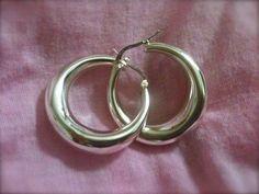 Sterling Silver Vintage Cute Hoop Earrings by xsoulsearchingx, $34.99
