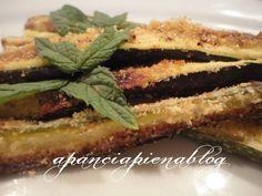 Bastoncini di zucchine al forno (ricetta light)