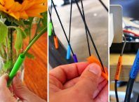11 Usos Inusuales para las Pajitas de Bebitas Barbacoa, Vegetables, Food, Mugs, Wire Bookmarks, Portion Control, Permanent Marker, Homemade Smoker, Sports Drink