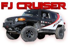 FJ Cruiser Lift Kits and Accessories