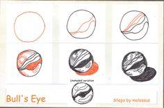Bull's Eye by Sandra Strait