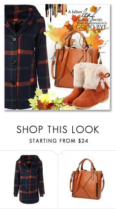"""""""Coat With Hoodie"""" by jecakns ❤ liked on Polyvore featuring Bastien"""