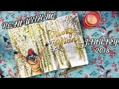 FEBRUARY PLAN WITH ME | BULLET JOURNAL SET UP 2018 - YouTube