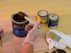 Lkg-DIYNetwork.com provides the lowdown on the basic products you'll need for your next refinishing project.