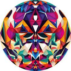 Circles by Anai Greog, via Behance