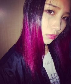 WEBSTA @ mikannjuice - #new #hair #color #manicpanic #マニックパニック #マニパニ#fuschiashock #フューシャショック#しんさん #感謝 ✨#instafashion #instacollage #instamood #instamakeup #instafollow #instalike #instahappy #instadaily