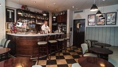 Bar Termini, Soho. Great for relaxed drinks and vodka martinis