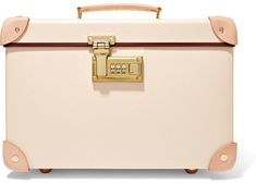 Globe-Trotter - Safari 13'' Leather-trimmed Fiberboard Vanity Case - Cream