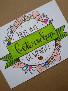 Beterschap! Made by Josine