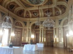 beautiful interior of Bordeaux opera theatre