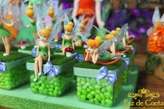 Tinkerbell Party Theme, Tinkerbell Fairies, Puppy Birthday Parties, Fairy Birthday Party, Festa Thinker Bell, Fairy Baby Showers, Ben And Holly, Peter Pan And Tinkerbell, Disney Princess Birthday