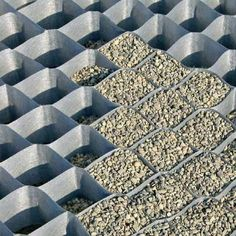 DuPont Grass Paver - Gravel Grid x - 50 mm x 55 mm Cell Size - Rhizome Barrier Supply Grass Pavers, Gravel Driveway, Driveway Landscaping, Small Backyard Landscaping, Landscaping Software, Landscaping Ideas, Driveway Ideas, Backyard Ideas, Rock Driveway