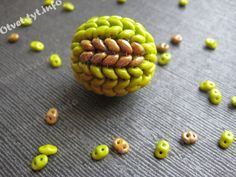 Super Duo Beaded Bead Master Clay (Translate) #Seed #Bead #Tutorials