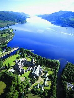 Loch Ness | Scotland this is Fort Augustus Abbey (The Highland Club) Old School 11 apartment is one of the luxury apartments situated in the abbey www.lochnessholiday.co.uk