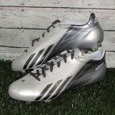 pretty nice 4cade 521f7 Mens Adidas adizero 5-Star 6.0 Football Cleats Mid Size 8 9.5 10.5 12 13  White   eBay