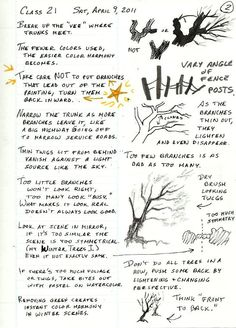 Robert's Class Notes-DO NOT POST HERE! - Page 3 - WetCanvas