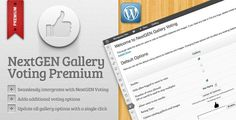 NextGEN Gallery Voting Premium by shaunalberts  PLEASE NOTE: This plugin no longer actively supports NGG v1.x. I know some people have it running successfully on NGG v1.9.x without issues, but there are possible conflicts with other plugins etc, means it is unsupported by NGG