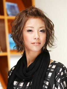 like this with bangs 30 Cute Short Hair Cuts   http://www.short-haircut.com/30-cute-short-hair-cuts.html